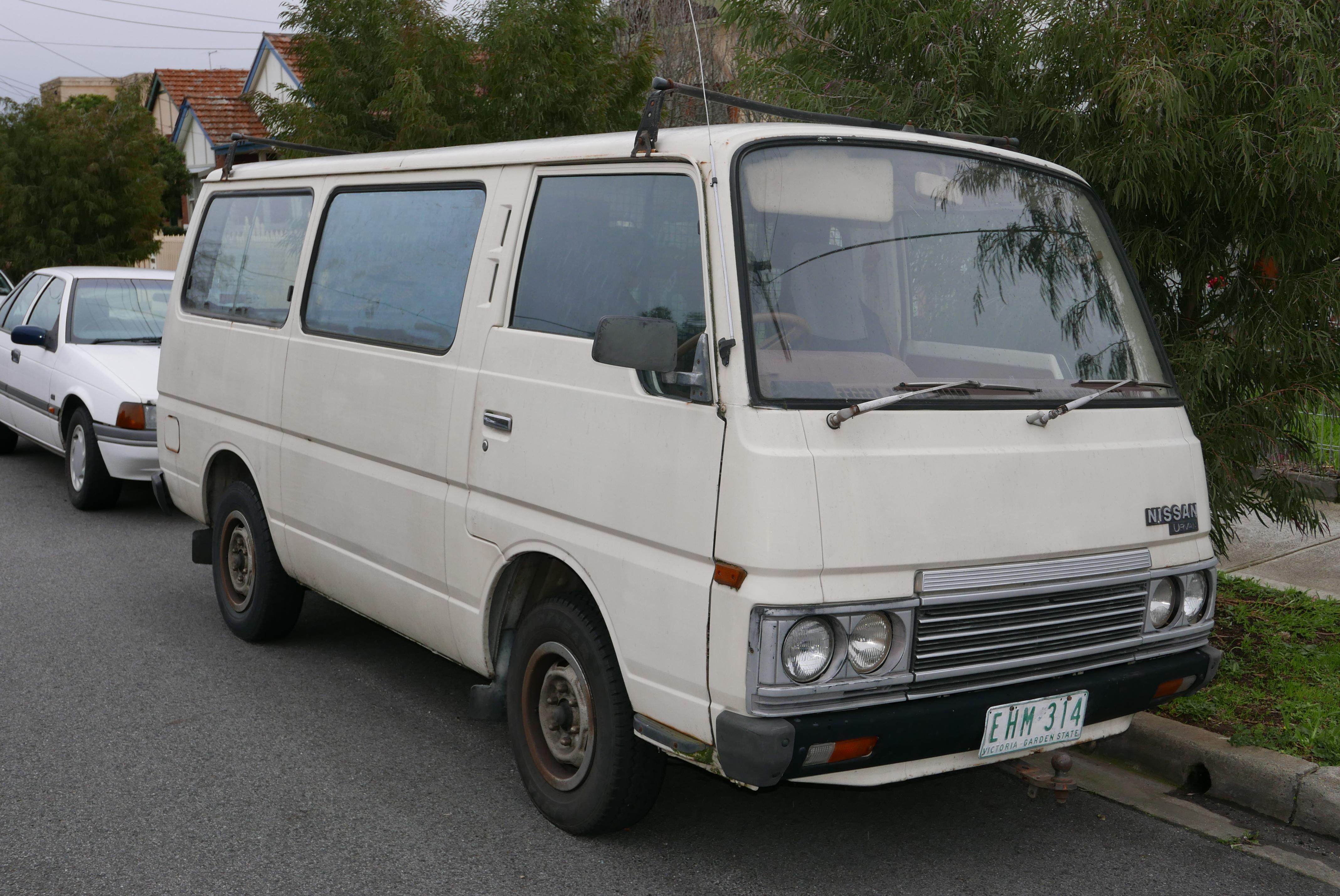 File 1985 Nissan Urvan E23 Swb 4 Door Van 2015 07 14 01 Jpg
