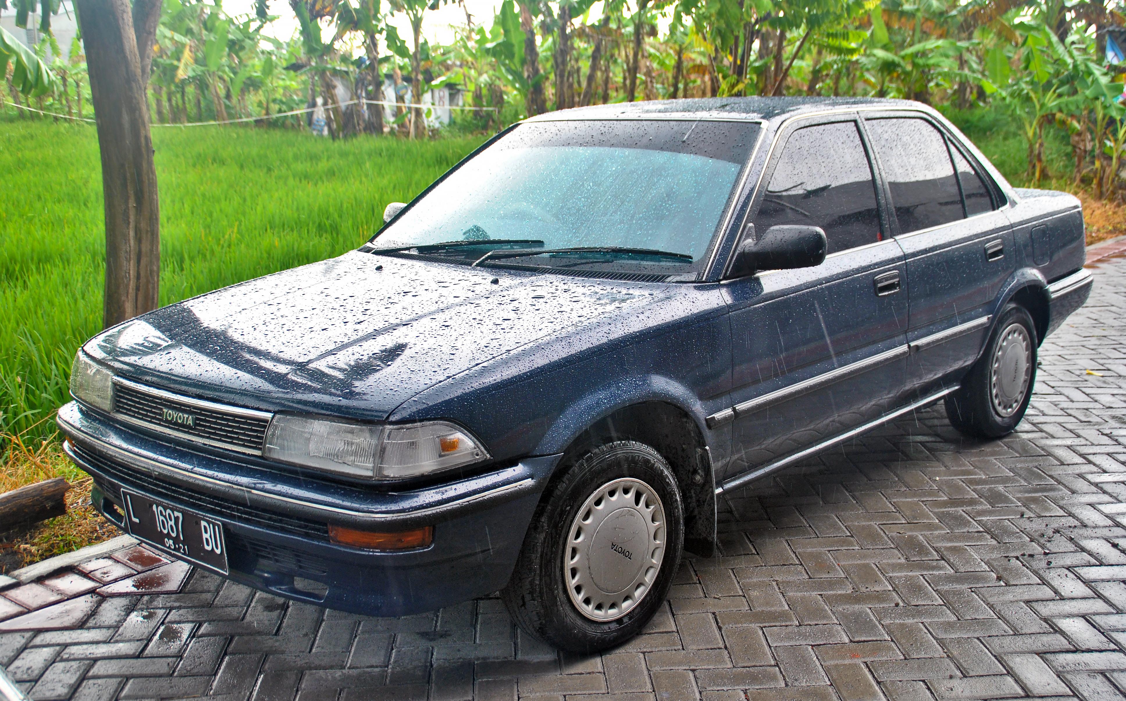 Kelebihan Toyota Corolla 1988 Spesifikasi