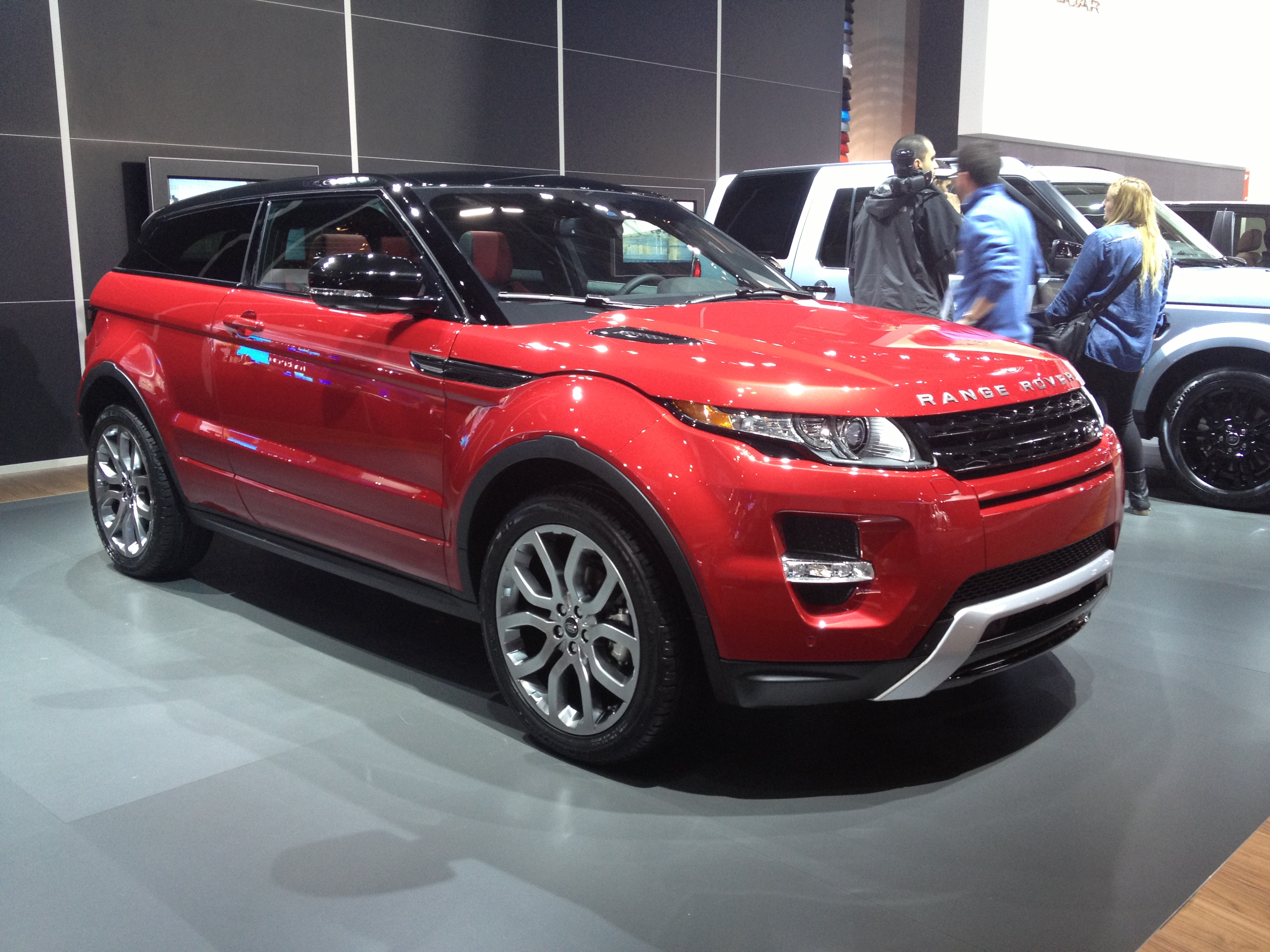 rover front capsule land range evoque review landrover