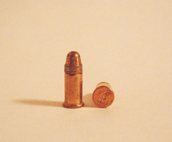rimfire bullet. house rimfire ammunition made