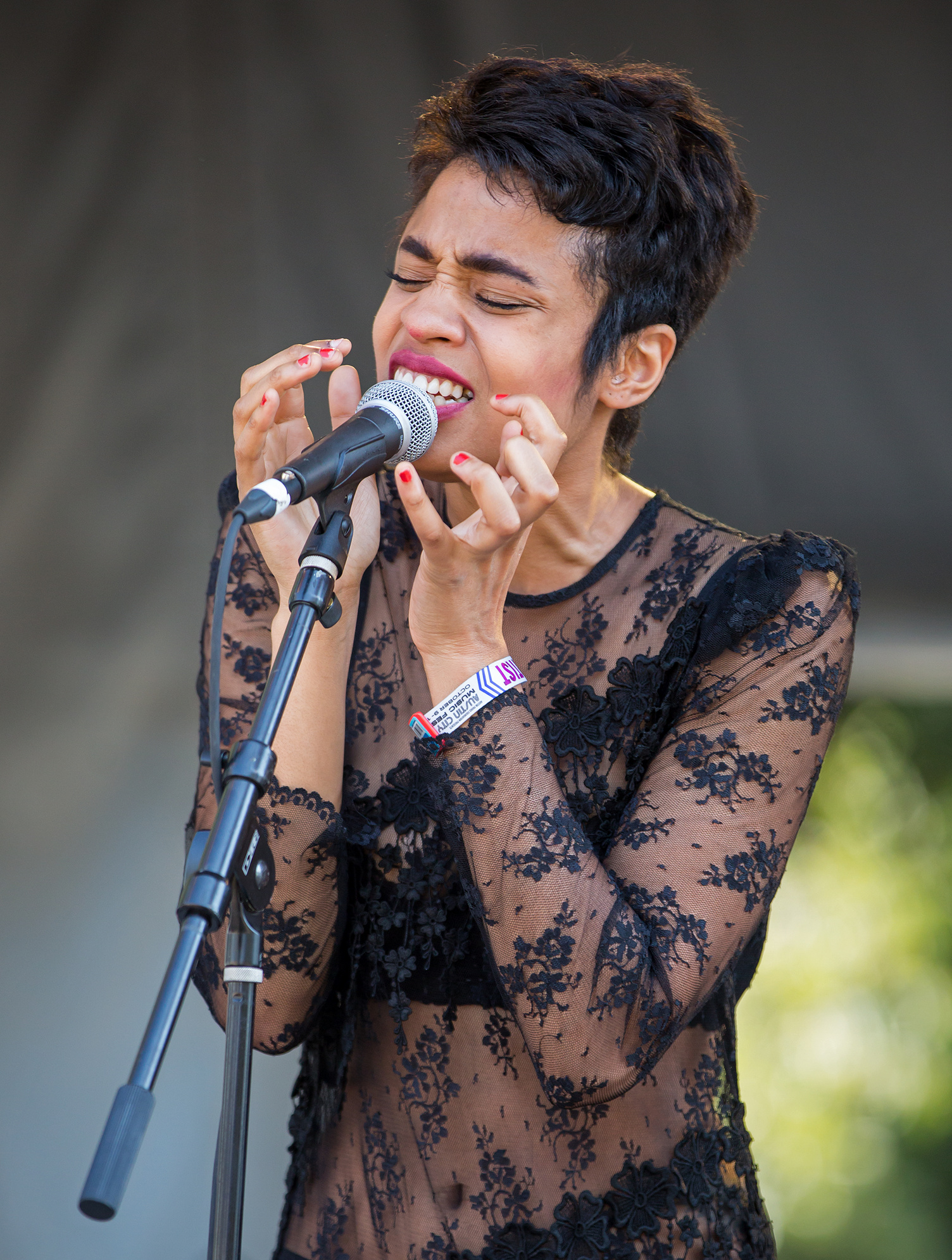 Adia Victoria performing at [[Austin City Limits Music Festival]] in 2015