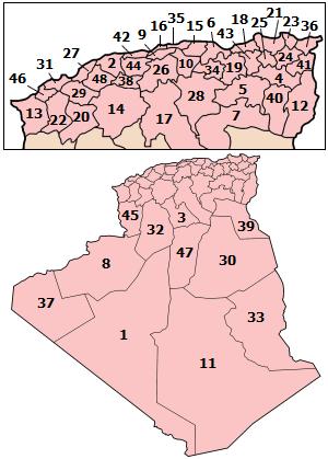 Algeria wilayat.png