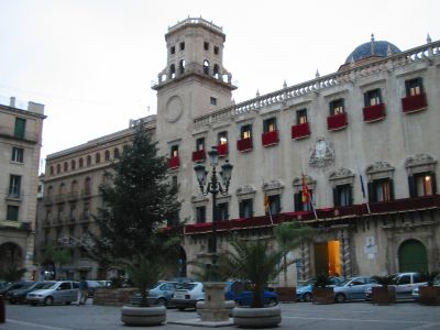 File:Alicante Spain townhall.jpg