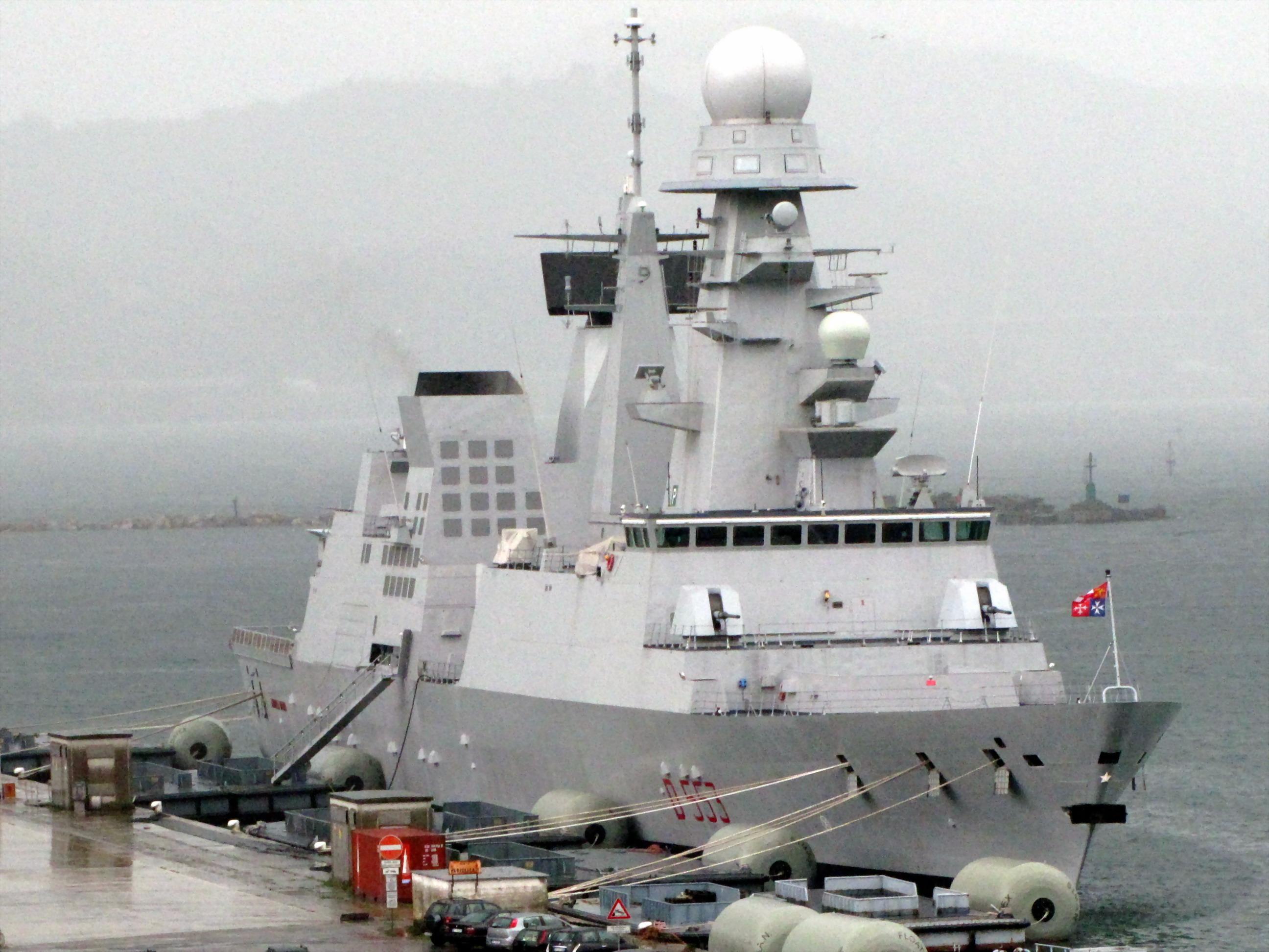 Italian destroyer Andrea Doria - Wikipedia
