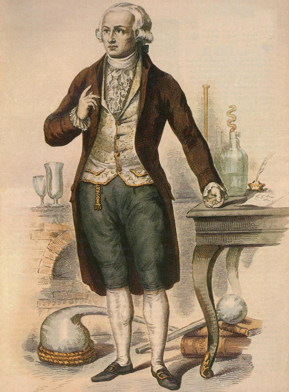 Antoine Laurent_de_Lavoisier on Silicon Periodic Table