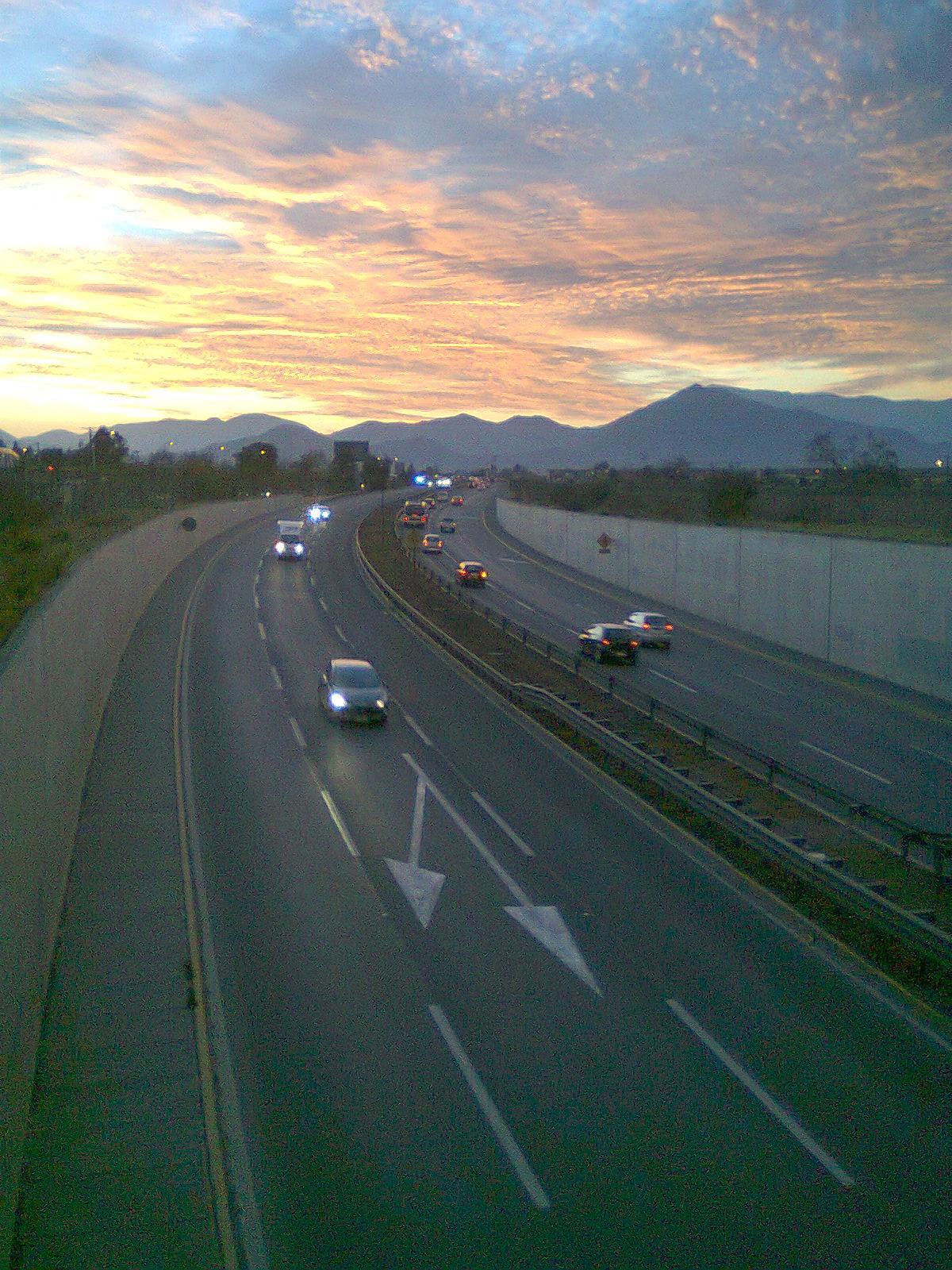 autopista del sol  chile