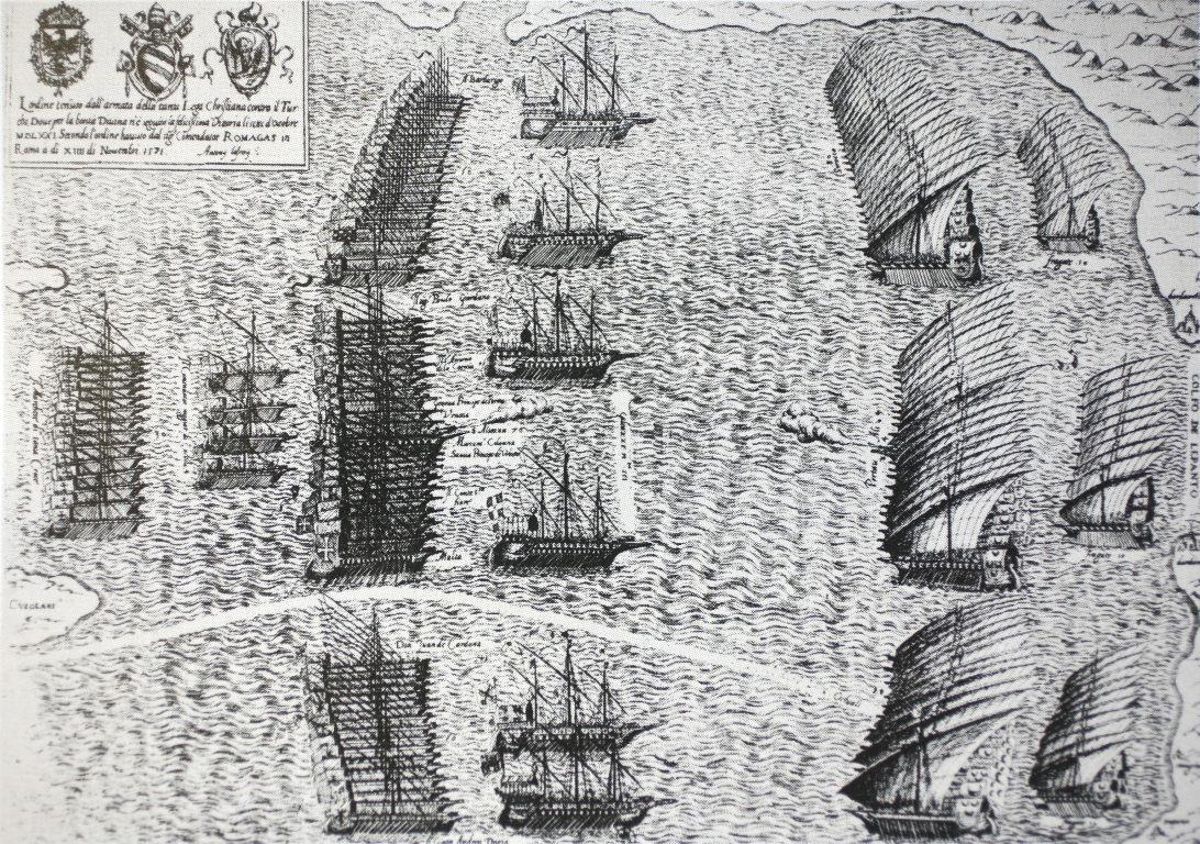Battle of Lepanto 1571 Map File Battle of Lepanto 1571 mg