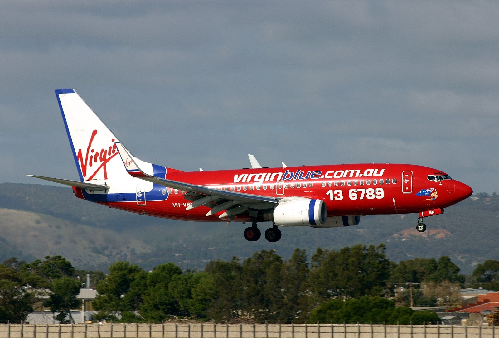 virgin airlines blue