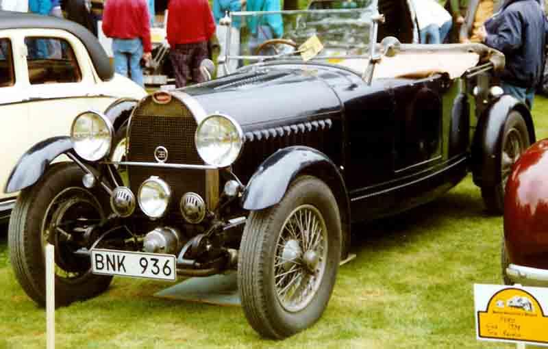 Classic Racing Cars Bank Of America
