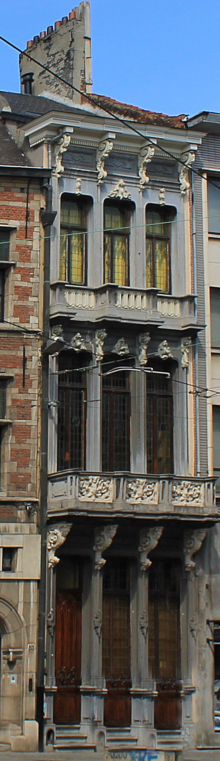 Bestand burgerhuis in louis philippe stijl minderbroedersrui 72 wikipedia - Ruimte stijl louis philippe ...