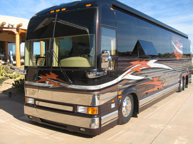 Luxury Motorhome Rentals The Biggest Trend At Burning Man 2010