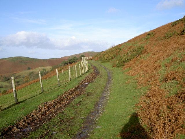 Byway near Penycloddiau - geograph.org.uk - 624528