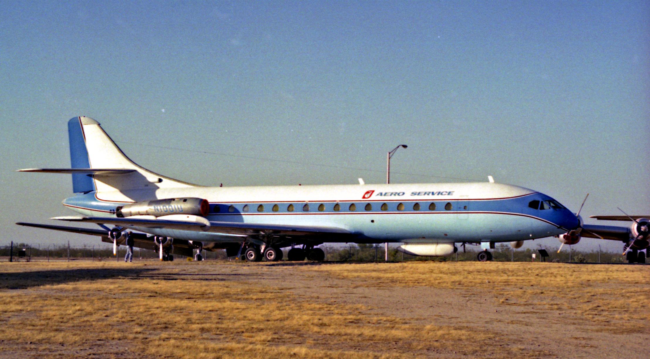 Tucson >> File:Caravelle, Pima Museum, Arizona, 1990.jpg - Wikimedia Commons