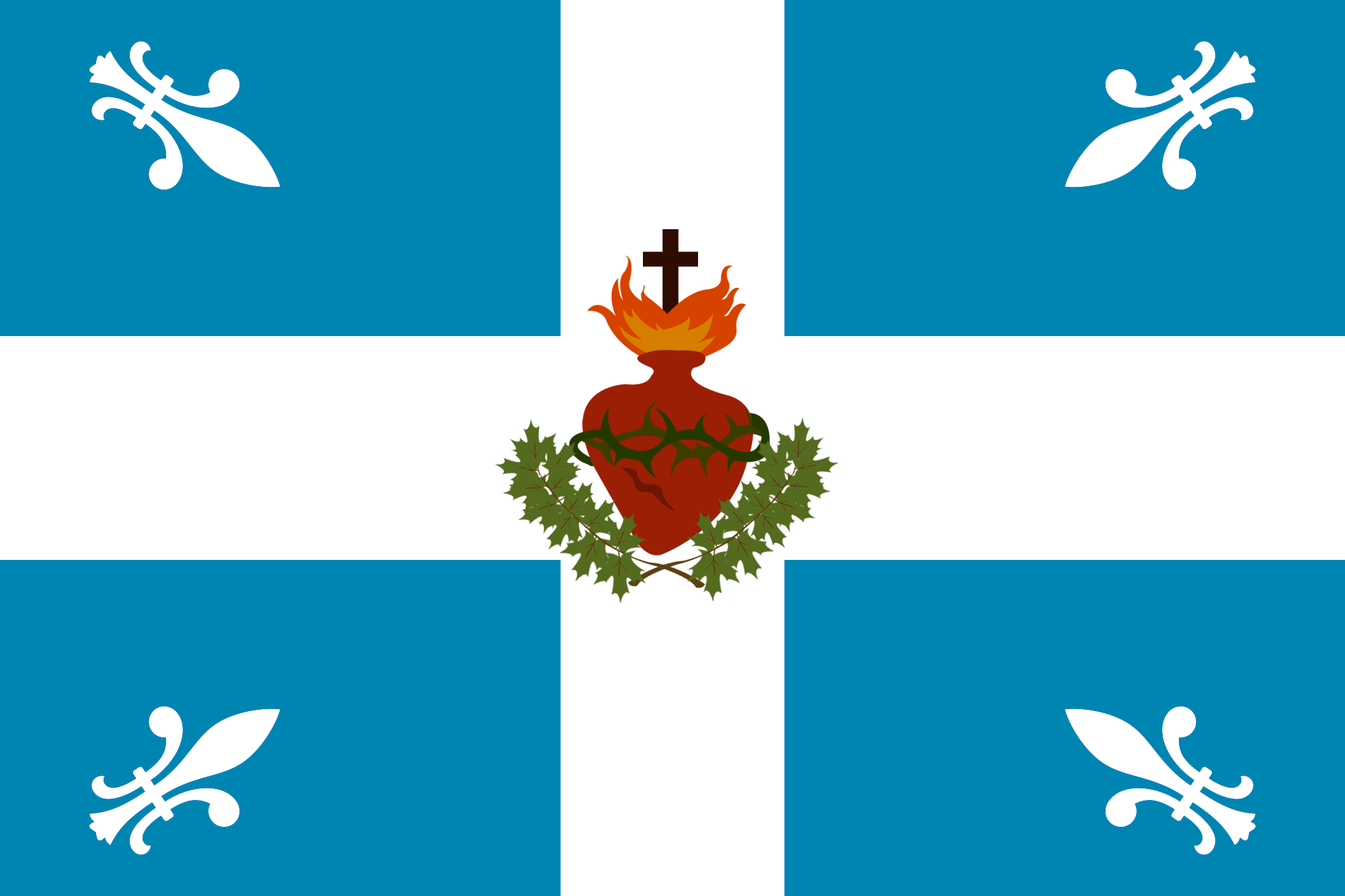 File Carillonsacrecoeur Drapeau Png Wikimedia Commons