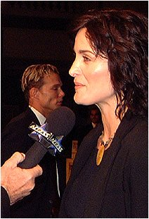Carrie-Anne Moss in 1999