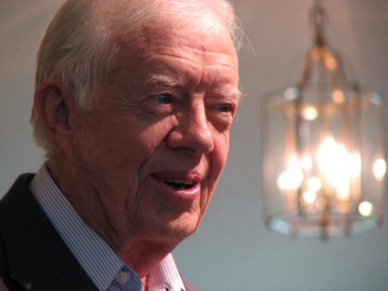Jimmy Carter im Jahr 2007