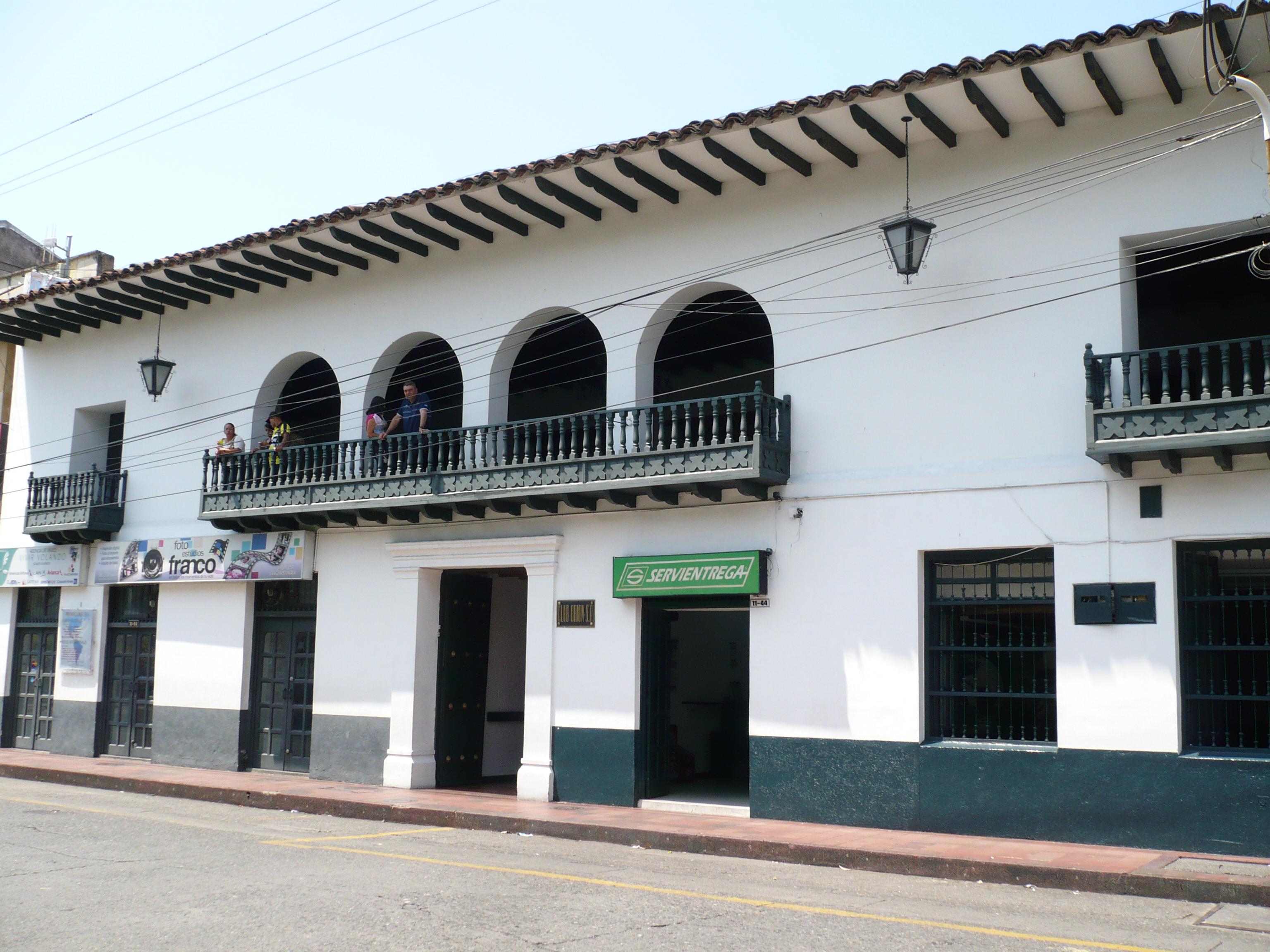 Archivo casa colonial 1 cartago valle colombia jpg - Casas tipo colonial ...