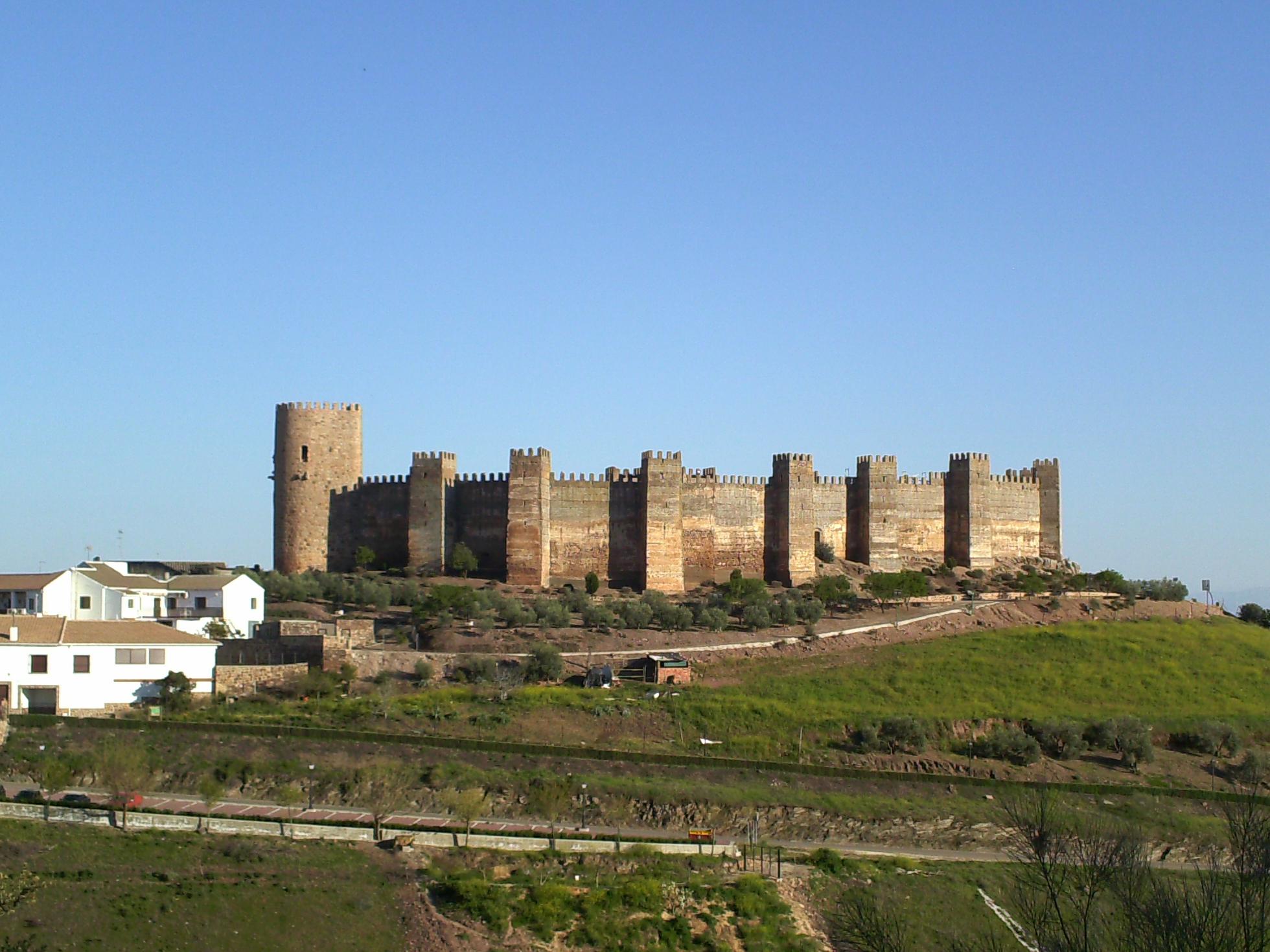 Yacimientos en al andalus castillo de burgalimar ba os - Banos de la encina ...