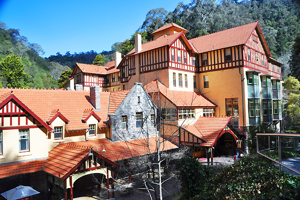 """Caves House at Jenolan Caves"" by Melbouge"