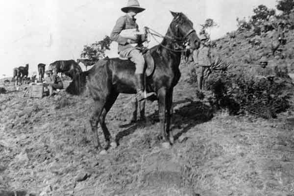 Черчилль во время Англо-бурской войны
