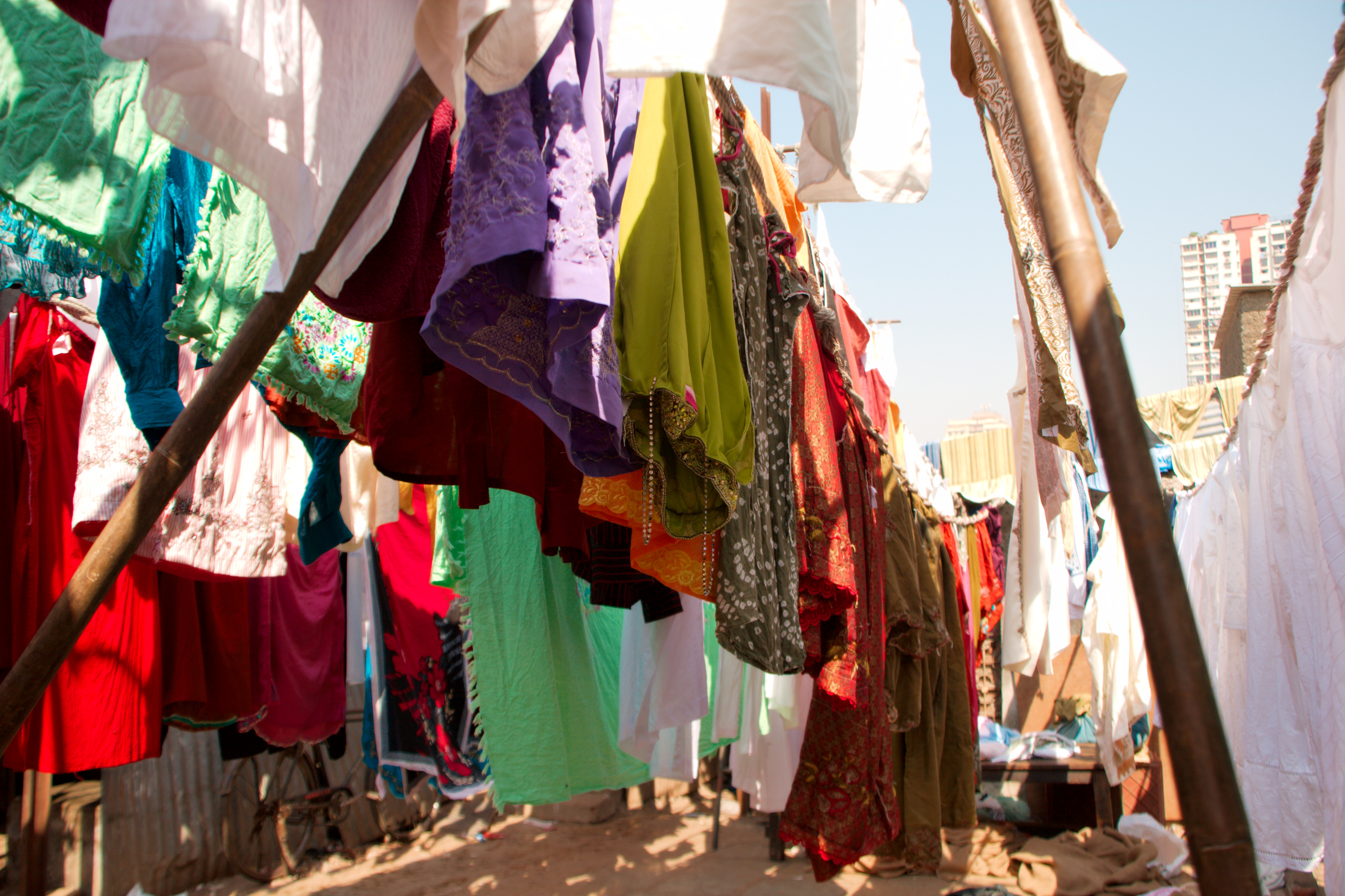 Fileclothes Hanging To Dryjpg Wikimedia Commons