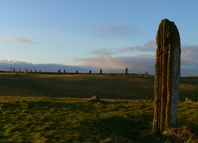 Comet Stone and Ring of Brodgar 20061217