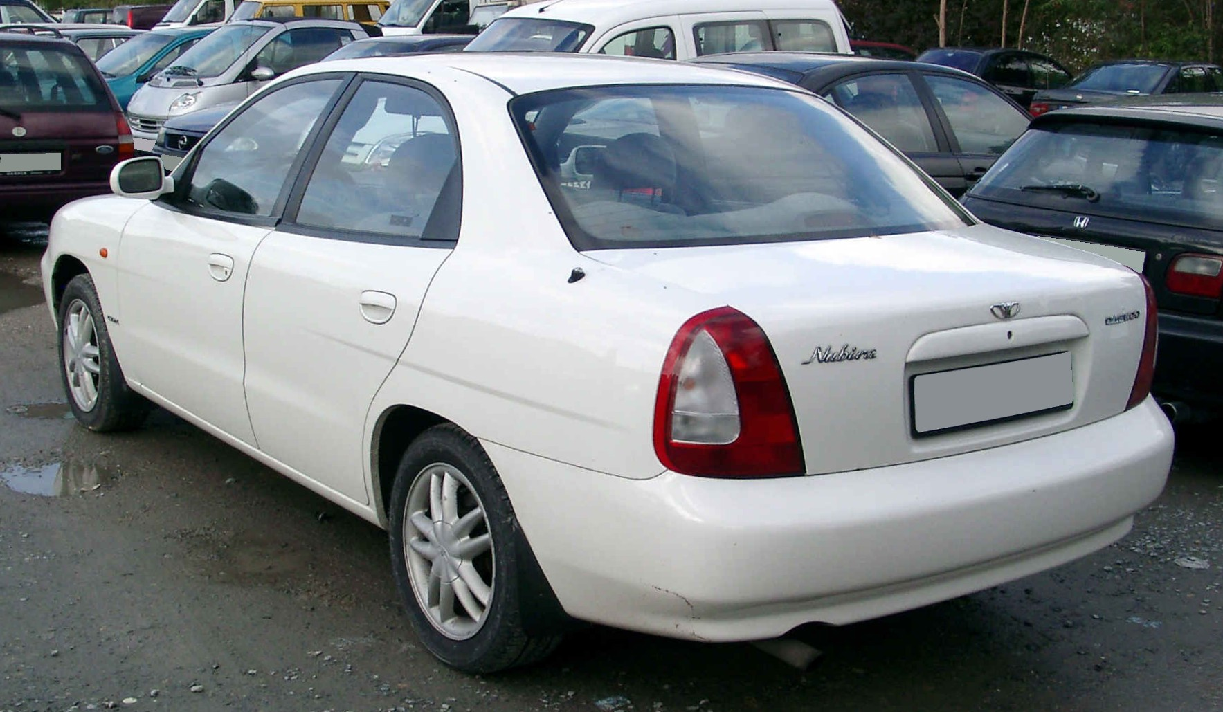 File Daewoo Nubira rear 20081007 on 2002 daewoo lanos