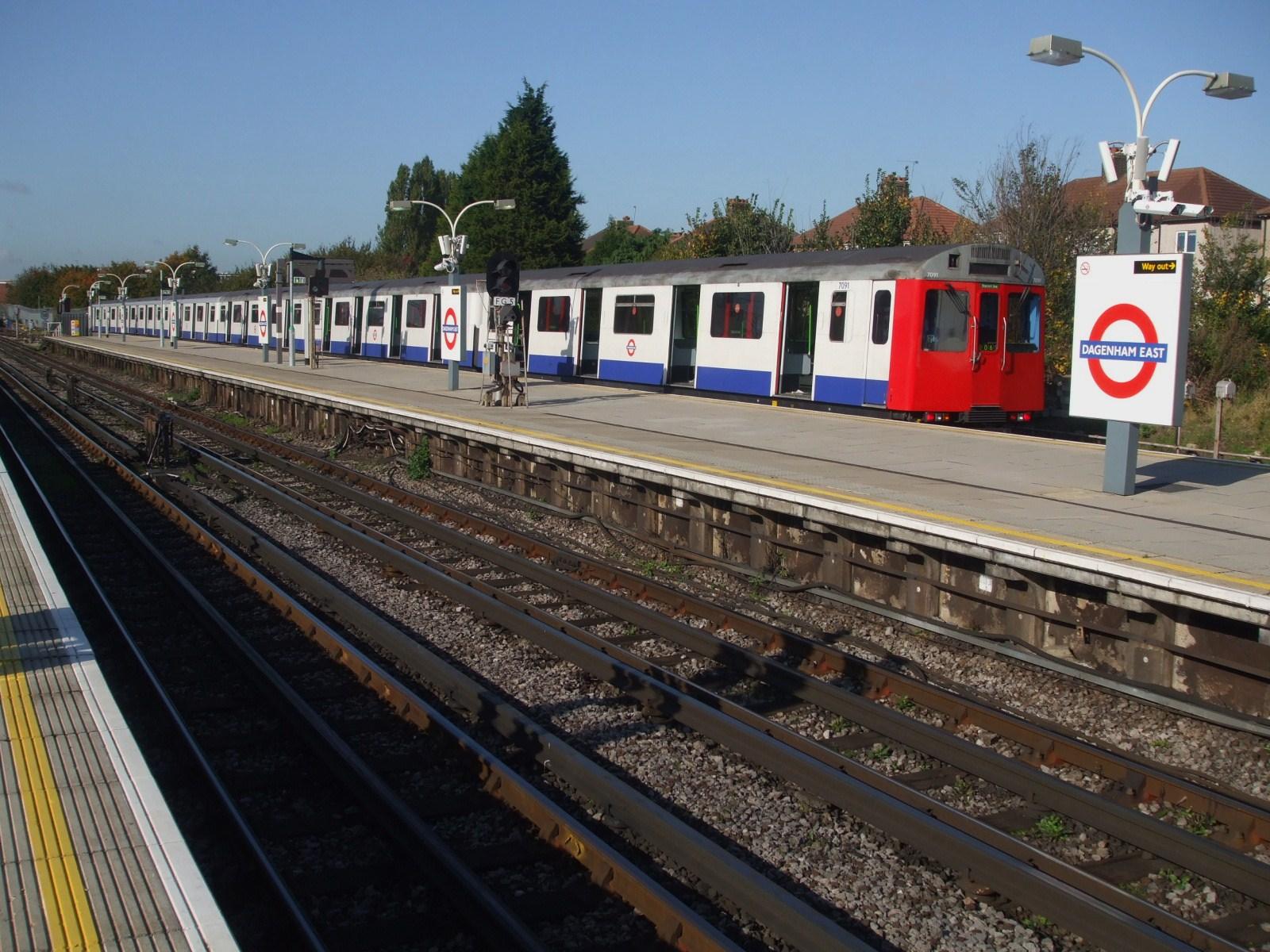 Dagenham East Underground Train Station