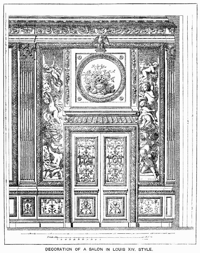 File decoration of a salon in the louis xiv for Decoration maison wikipedia