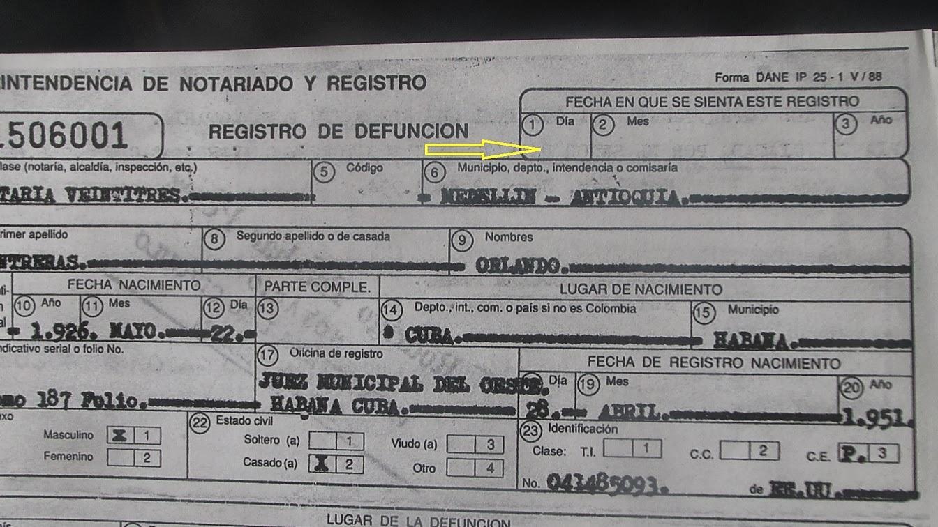 File:Defunción de Orlando Contreras NO REGISTRADA.JPG - Wikimedia ...