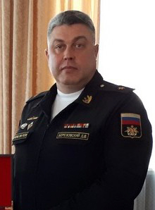 Denis Berezovsky Rear admiral and former commander of the Ukrainian Navy
