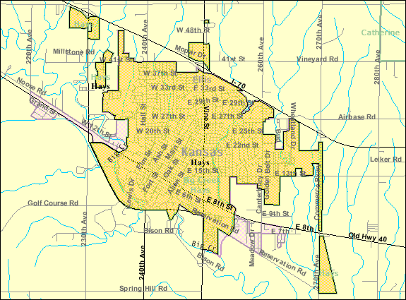 File Detailed Map Of Hays Kansas Png Wikimedia Commons
