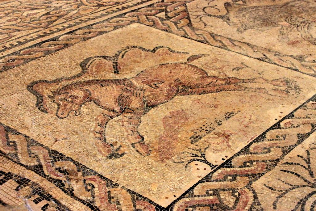 File detalle mosaico camino de albalate 2 jpg for Mosaico romano