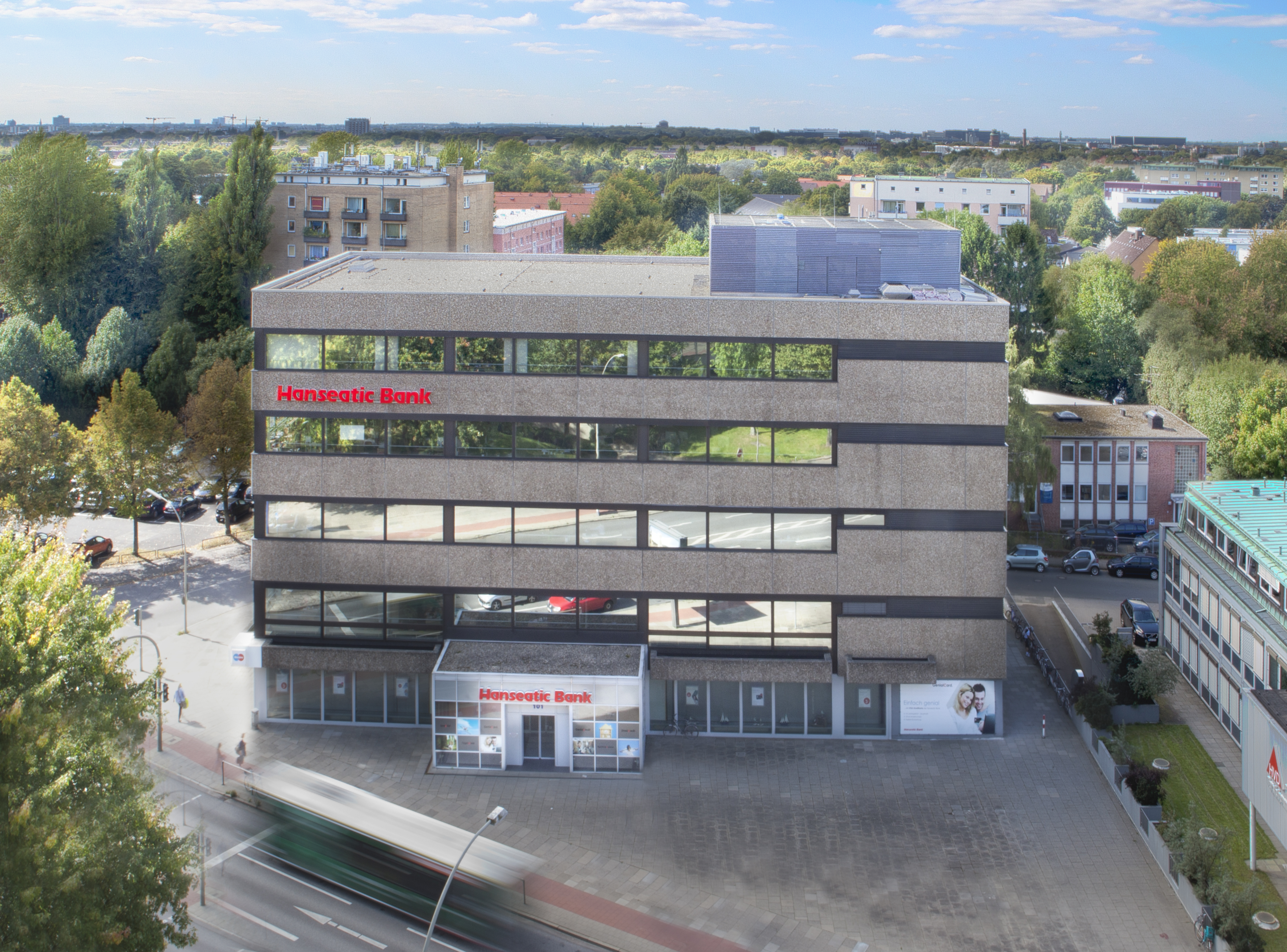 File Die Zentrale Der Hanseatic Bank In Hamburg Von Oben Jpg