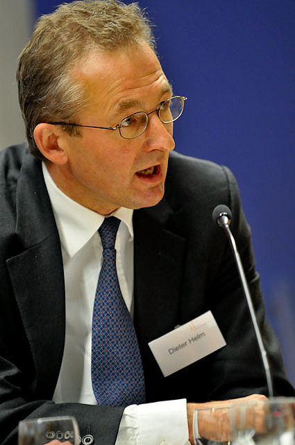 Helm at the [[Policy Network]] Politics of Climate Change conference in 2009