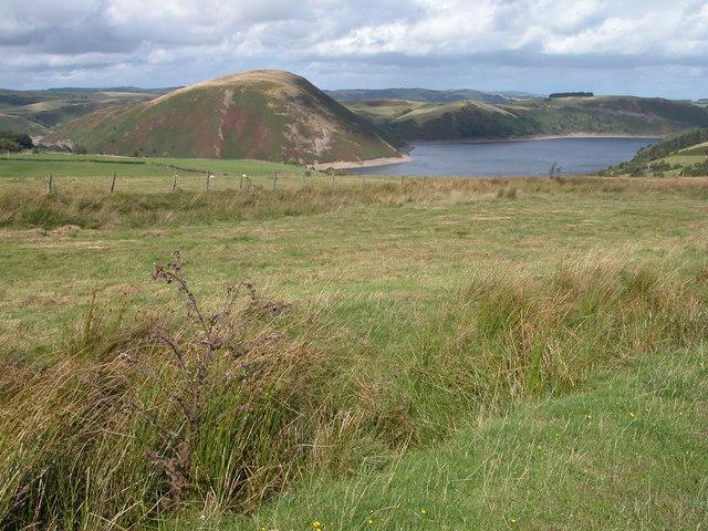 Dinas and Llyn Clywedog - geograph.org.uk - 229500