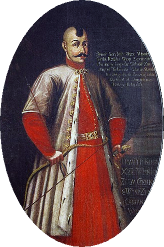 Baida Vishnevetsky, portrait of the 18th century.