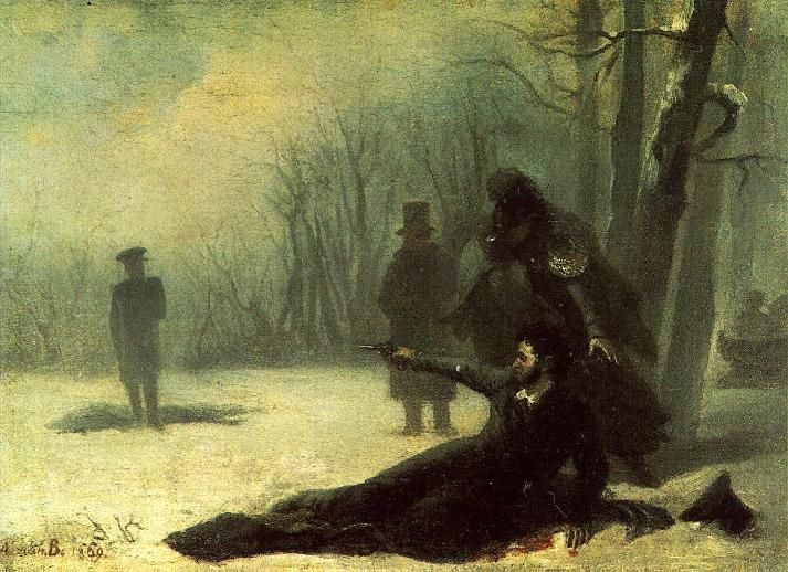 Дуэль пушкина с дантесом доклад 2937