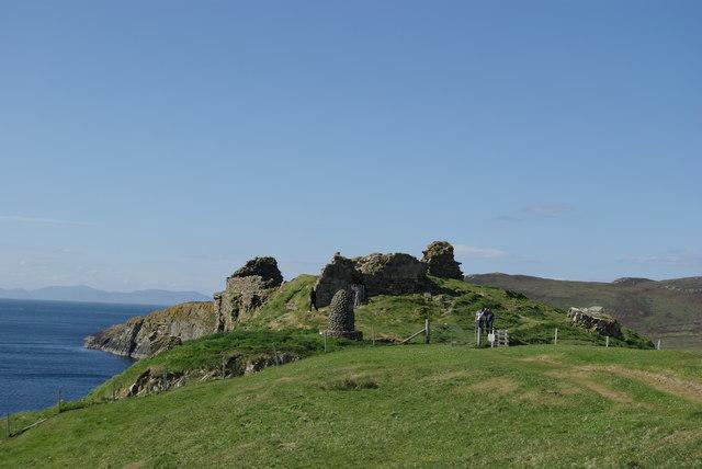 Duntulm Castle - geograph.org.uk - 870868