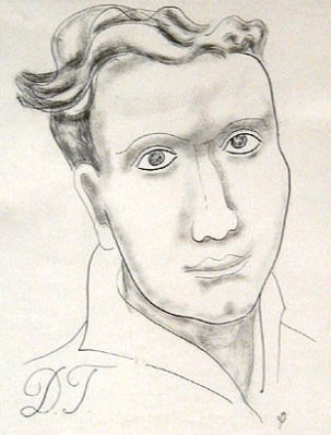 Dylan thomas by jessica dismorr 1935