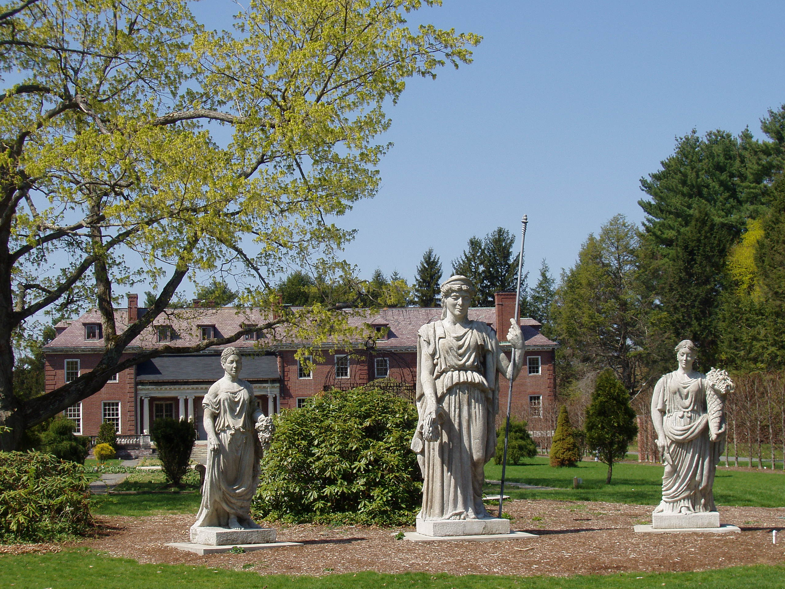 Elm bank, wellesley, ma   goddesses and mansion