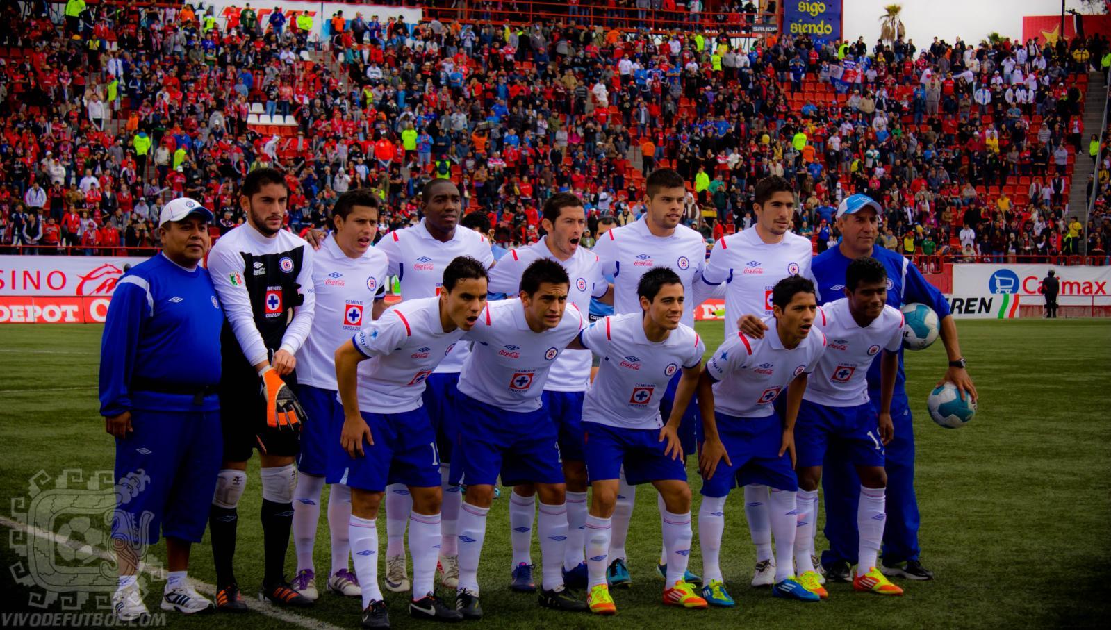 Description Escuadra Cruz Azul Clausura 2012