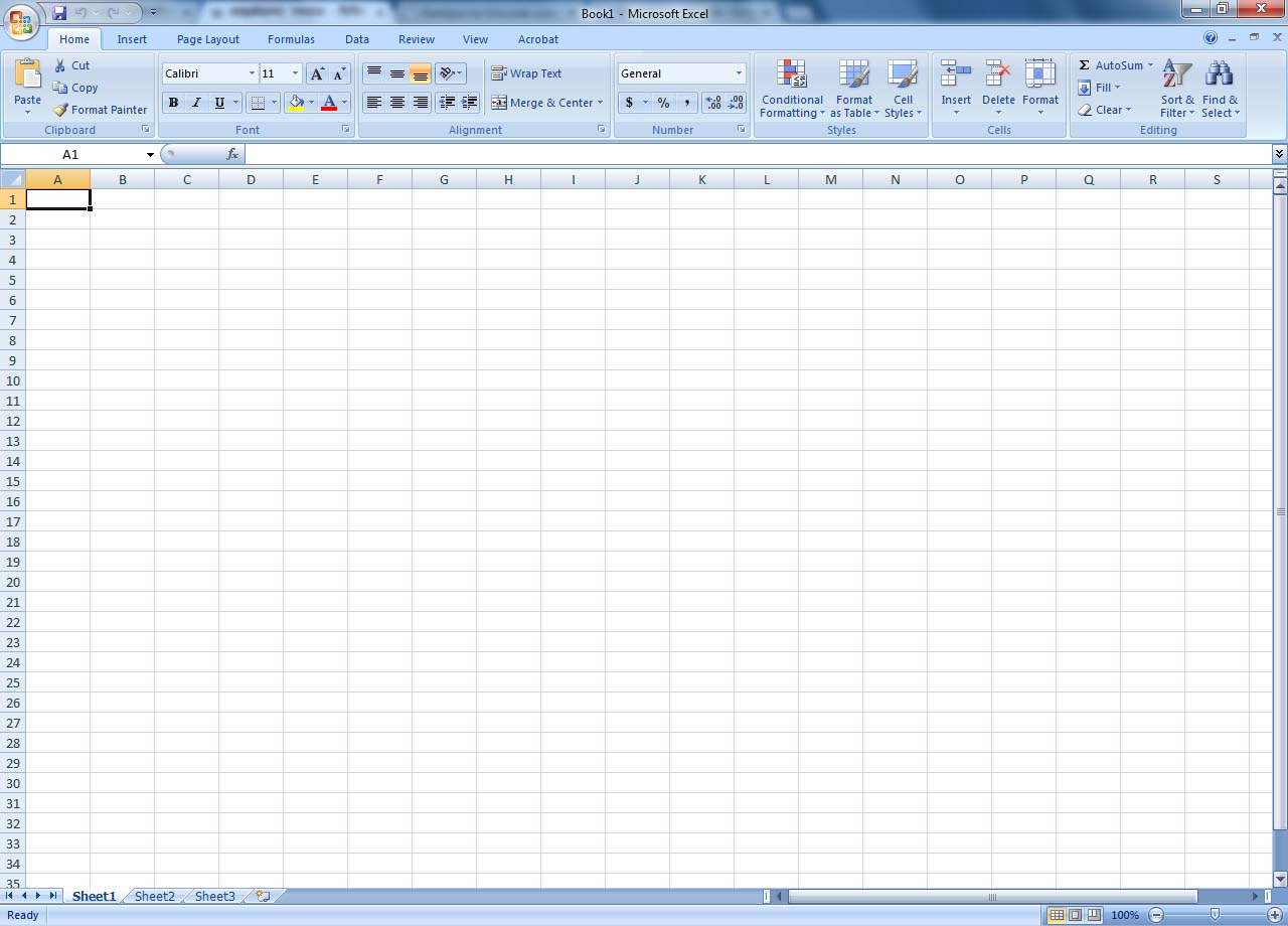 Ms Excel Templates Free