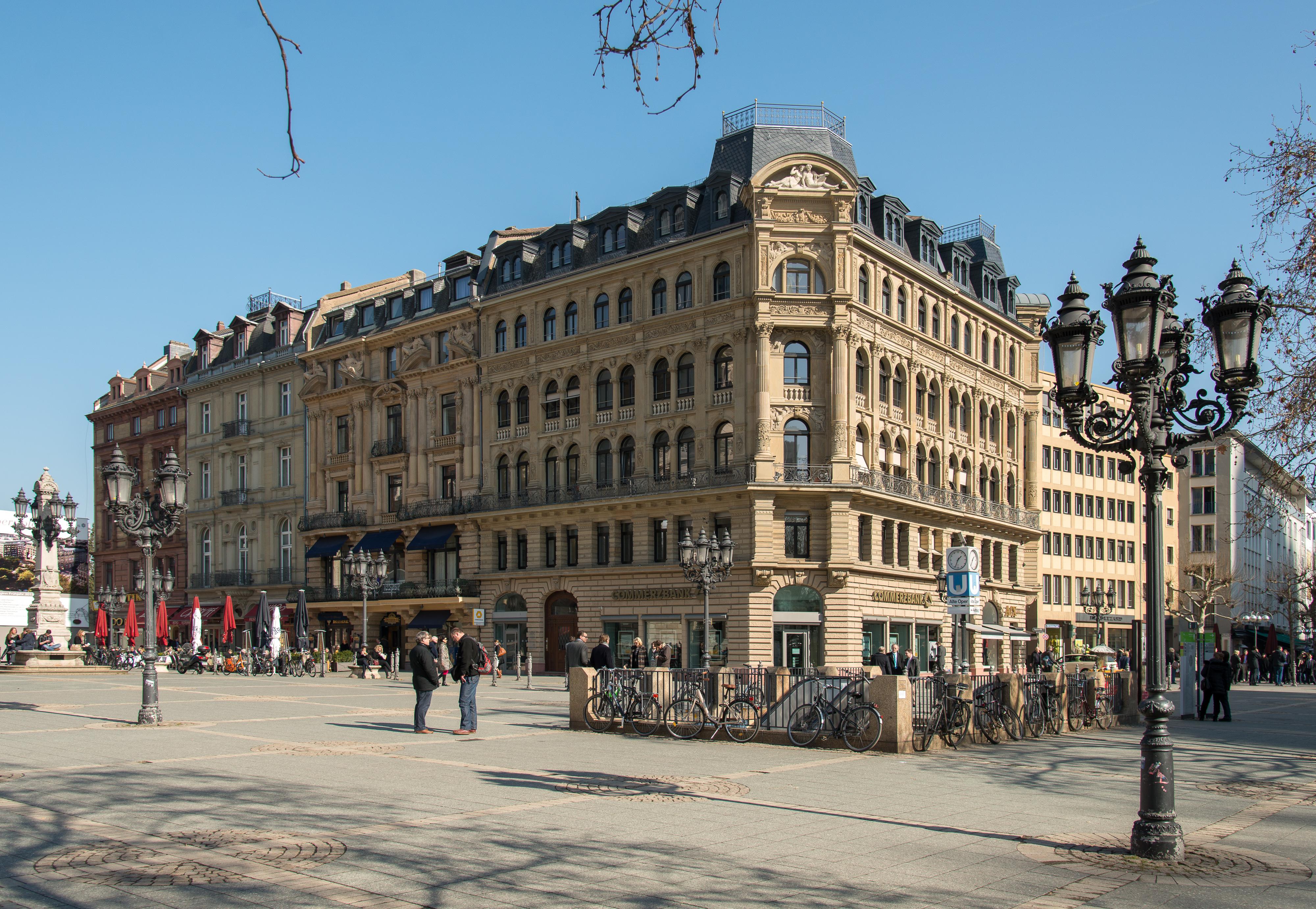Parkhaus Opernplatz Frankfurt