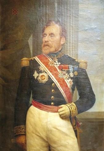 Général Joseph Édouard de La Motte-Rouge