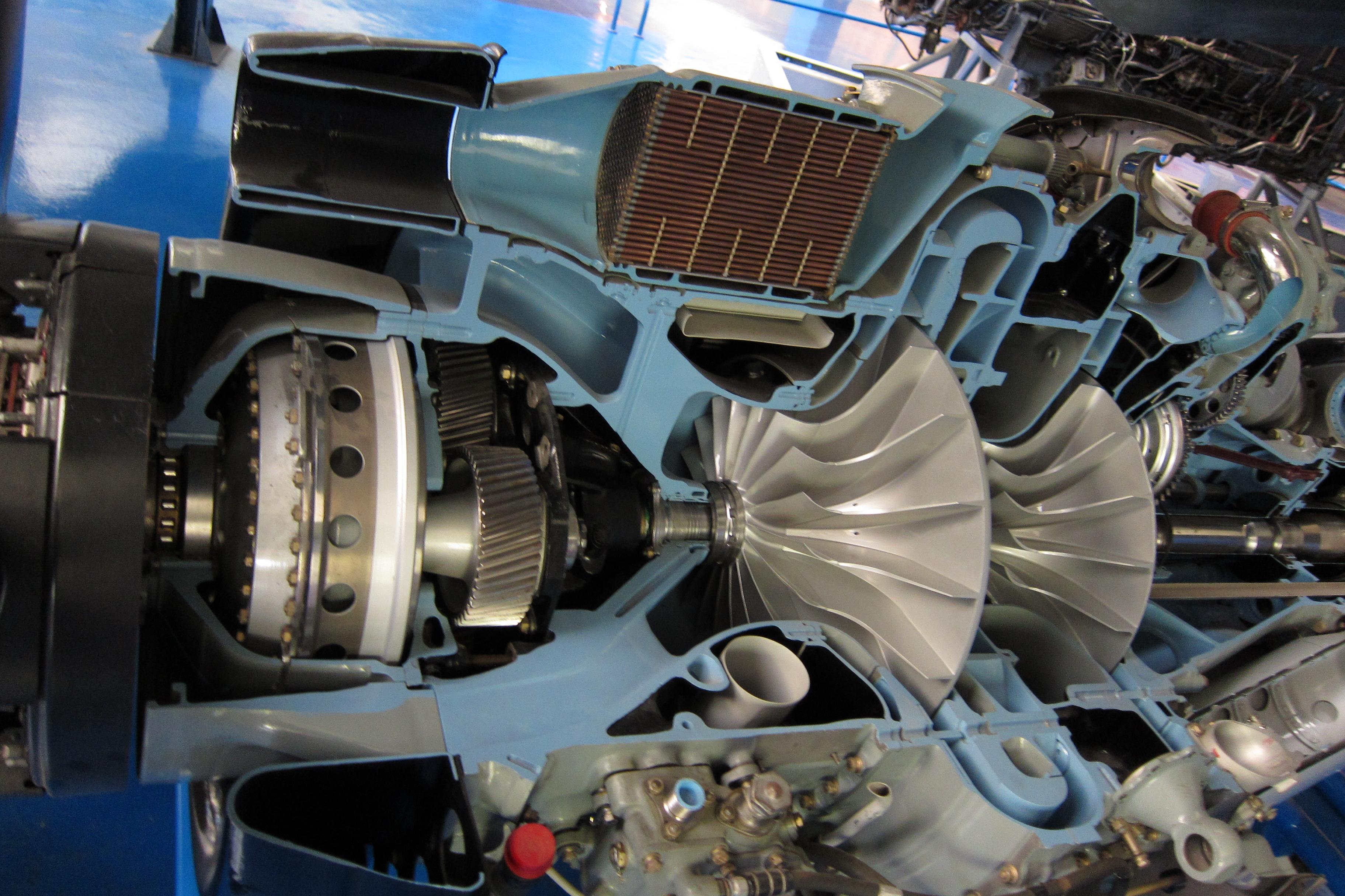 Rolls Royce Dart Turboprop Engine Gearbox Inlet And