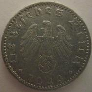 50 Reichspfennig World War Ii German Coin Wikipedia