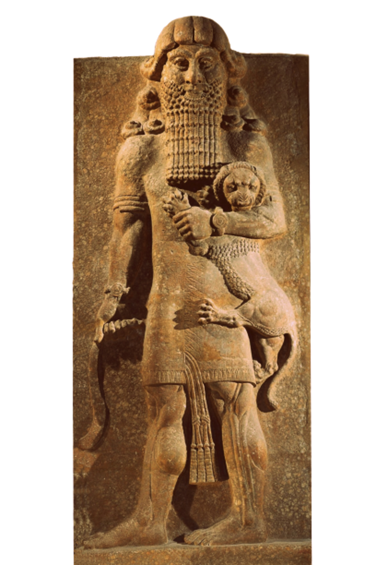 Gilgamesh sculpture