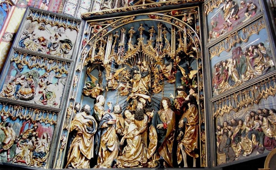 Image result for Altarpiece of Veit Stoss
