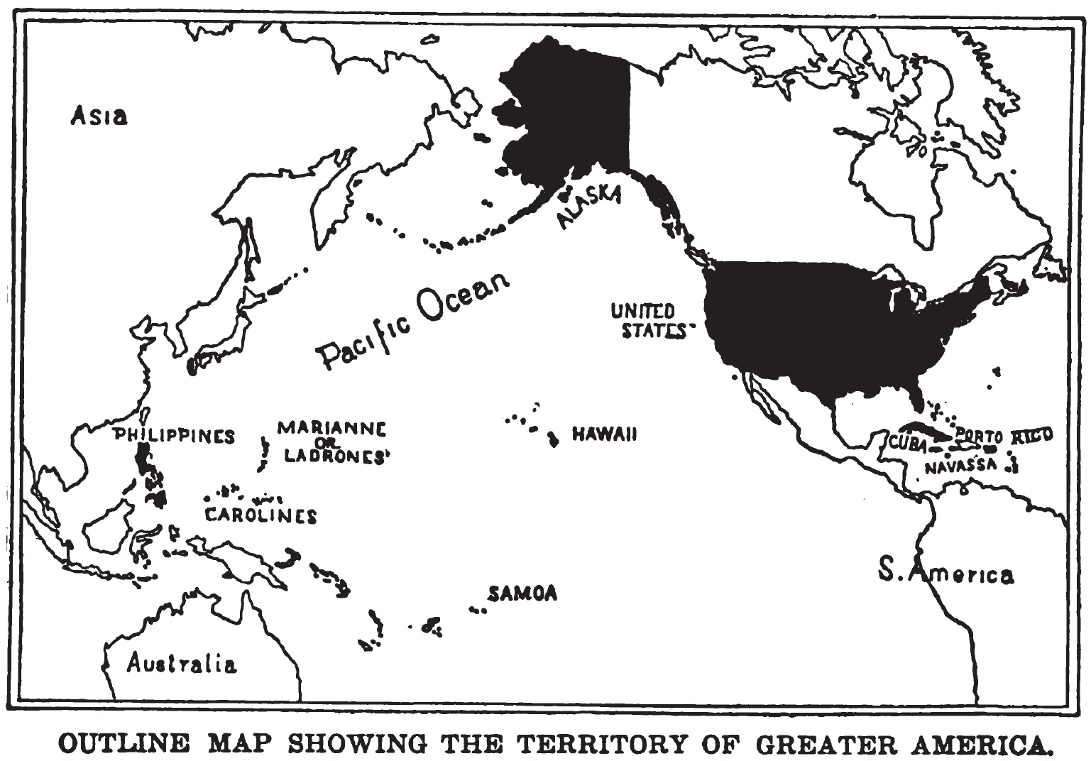 American Century Wikiwand - Us territorial influence 1914 map answers